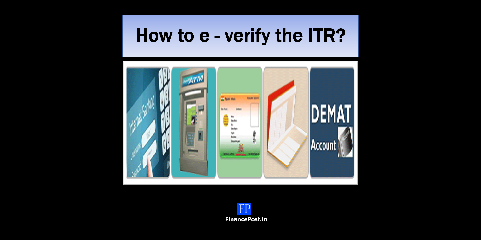 how to e-verify the ITR
