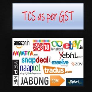 tcs as per GST