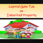 capital gain tax on inherited property