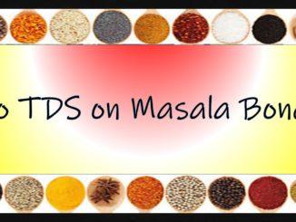 no tds on masala bonds