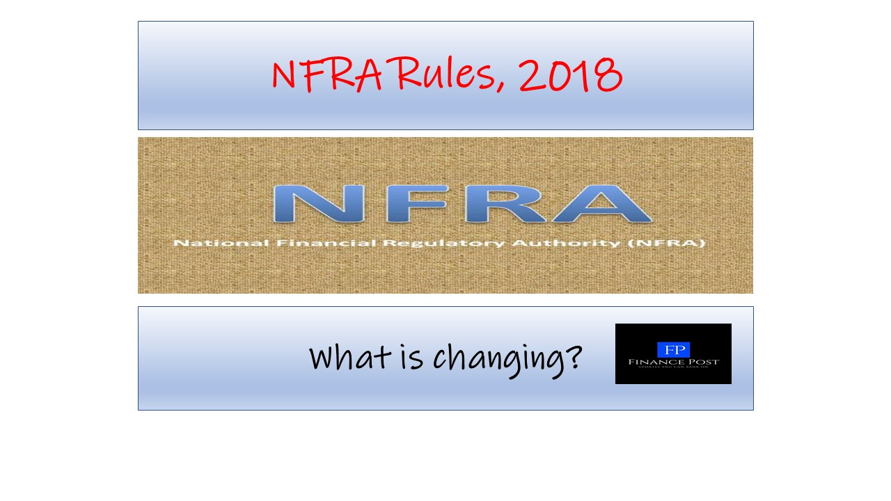 Nfra Rules 2018 What Is Changing Financepost