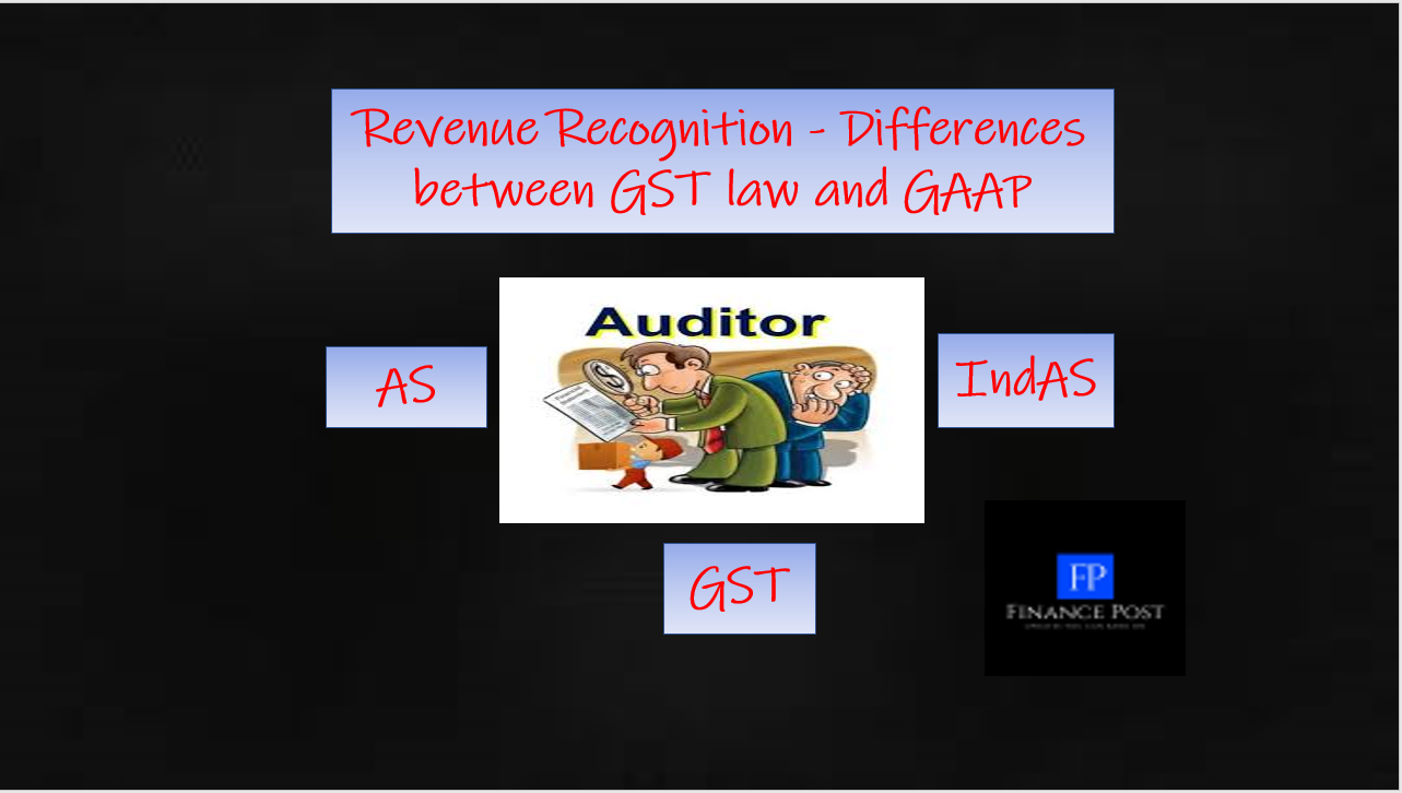 Revenue recognition - Differences between GST law and GAAP