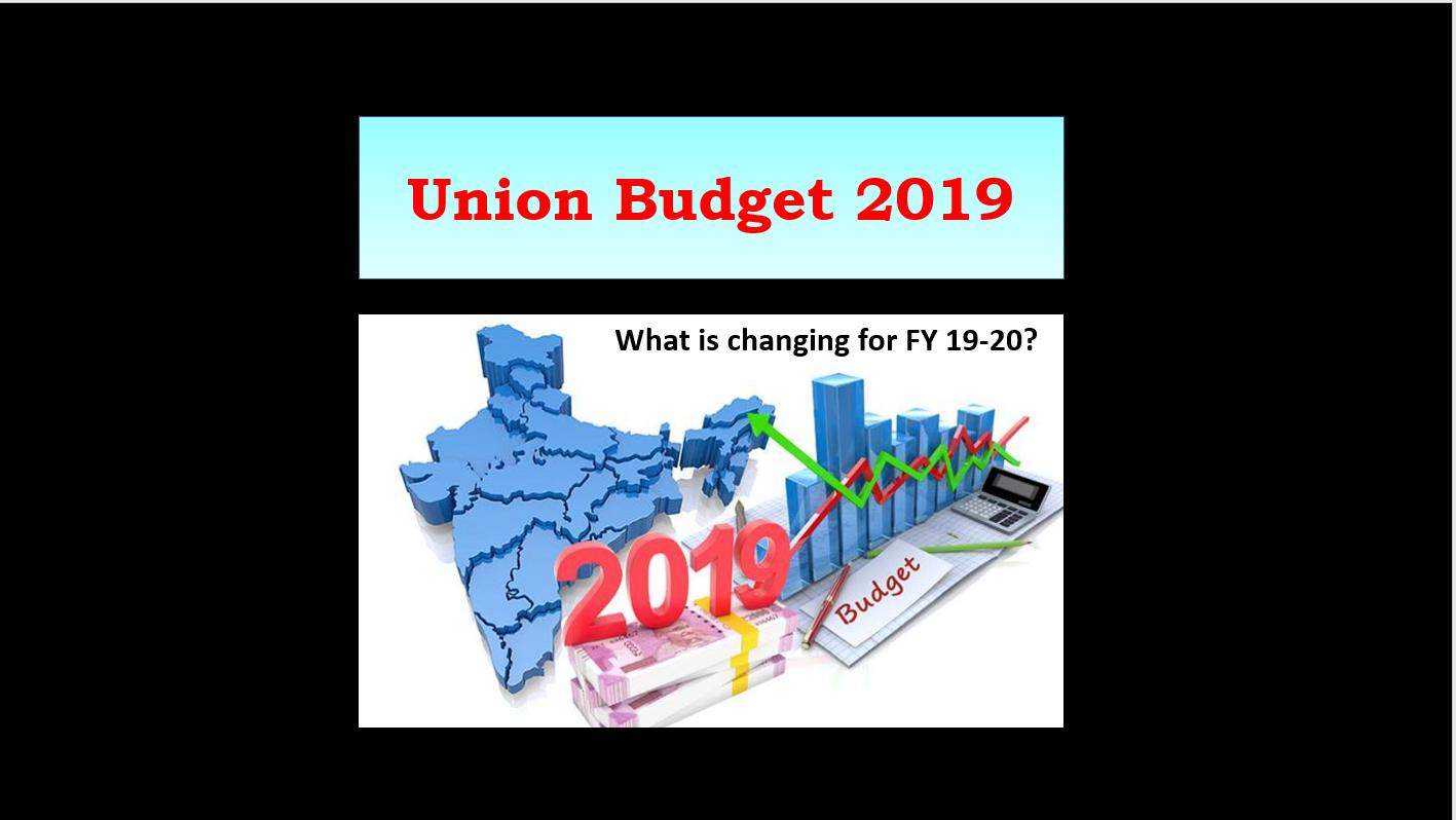 unione budget 2019