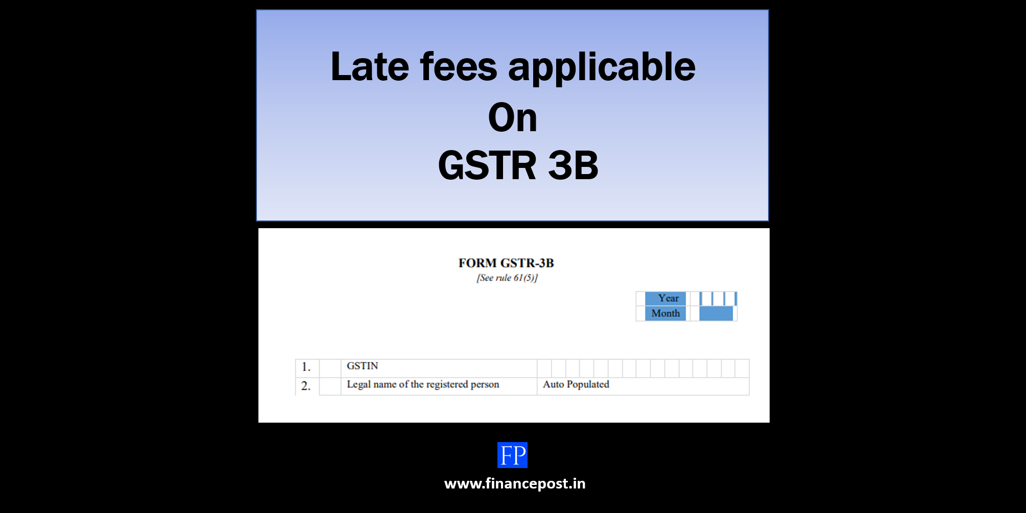 late fees applicable on gstr 3b