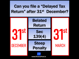 "Can you file a ""Delayed Tax Return"" after 31st December?"