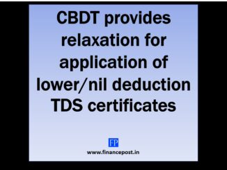 CBDT provides relaxation for application of lower/NIL deduction TDS certificates w.r.t. FY 2020-21 Due to the outbreak of the COVID-19 pandemic and the lock down has caused disruption in functioning of the Income Tax Department. This has lead to many applications which were made by many payees who have applied for the Lower/ Nil deduction TDS/TCS certificates u/s 195 or 197 or 206C(9) which could not be attended by the Income tax officers in a timely manner. CBDT has issued an order u/s 119 dated 31st March 2020 for assurance of taxpayers which provides relaxation in the process of application and issuance of  lower/ nil rate certificate of TDS or TDS for the Financial year 2020-21. Considering the hardships of assessees and Assessing Officers, CBDT has made the following clarifications :- ⊗ Assessees who had lower/NIL rate TDS certificate in the FY 2019-20 Assessees who have APPLIED for the FY 2020-21 - Assessees whose applications are pending for disposal on the TRACES portal, then the certificates issued in FY 2019-20 would be applicable upto 30th June 2020 or the date of disposal of application, whichever is earlier. Assessees who have NOT APPLIED for the FY 2020-21 - The certificates issued in FY 2019-20 would be applicable upto 30th June 2020. However, the need to apply for the certificate at the earliest as soon as the normalcy is restored as explained below. ⊗ Assessees who did not have lower/NIL rate TDS certificate in the FY 2019-20 Assessees who have NOT APPLIED for the FY 2020-21 -  A modified procedure for application and consequent handling by the Assessing Officer is laid down as explained below. ⊗ NRI Assessees having Permanent Establishment in India Regarding payment required to be made to NON- RESIDENTS having Permanent Establishment in India (not covered above) - Tax shall be deducted at the rate of 10% (including surcharge and cess), on payments made till 30.06.2020 or disposal of their applications, whichever is earlier. How to apply for lower/NIL TDS certificate through email considering the COVID-19 pandemic? An assessee who intends to apply for the lower/NIL rate TDS Certificate shall apply for the same to the concerned Assessing Officer. The e-mail shall contain the following attachments: -  Duly filed Form 13 along with annexure and supporting documents. (Annexure I and Annexure III)  Documents/information which is required to be uploaded on TDS-CPC for filling up FORM 13. Projected Balance Sheet and Profit & loss Account for the FY 2020-21. Provisional Balance Sheet and Profit & loss Account for the FY 2019-20. Balance Sheet and Profit & loss Account for the FY 2018-19. Form 26AS for the FY 2019-20 and FY 2018-19. Acknowledgement of ITR for the FY 2018-19. The whole process as followed earlier will remain the same except that the application will be made via e-mail and the certificate will be issued via e-mail. The article is compiled by CA Mehul Gupta. If you have any queries concerning the above article. Please write to us either in the comments section below or email the author on  camehulg@gmail.com. Click below to receive regular updates     Click here to download the order u/s 119 issued by Ministry of Finance on 31st March 2020. Click here to download the FORM 13
