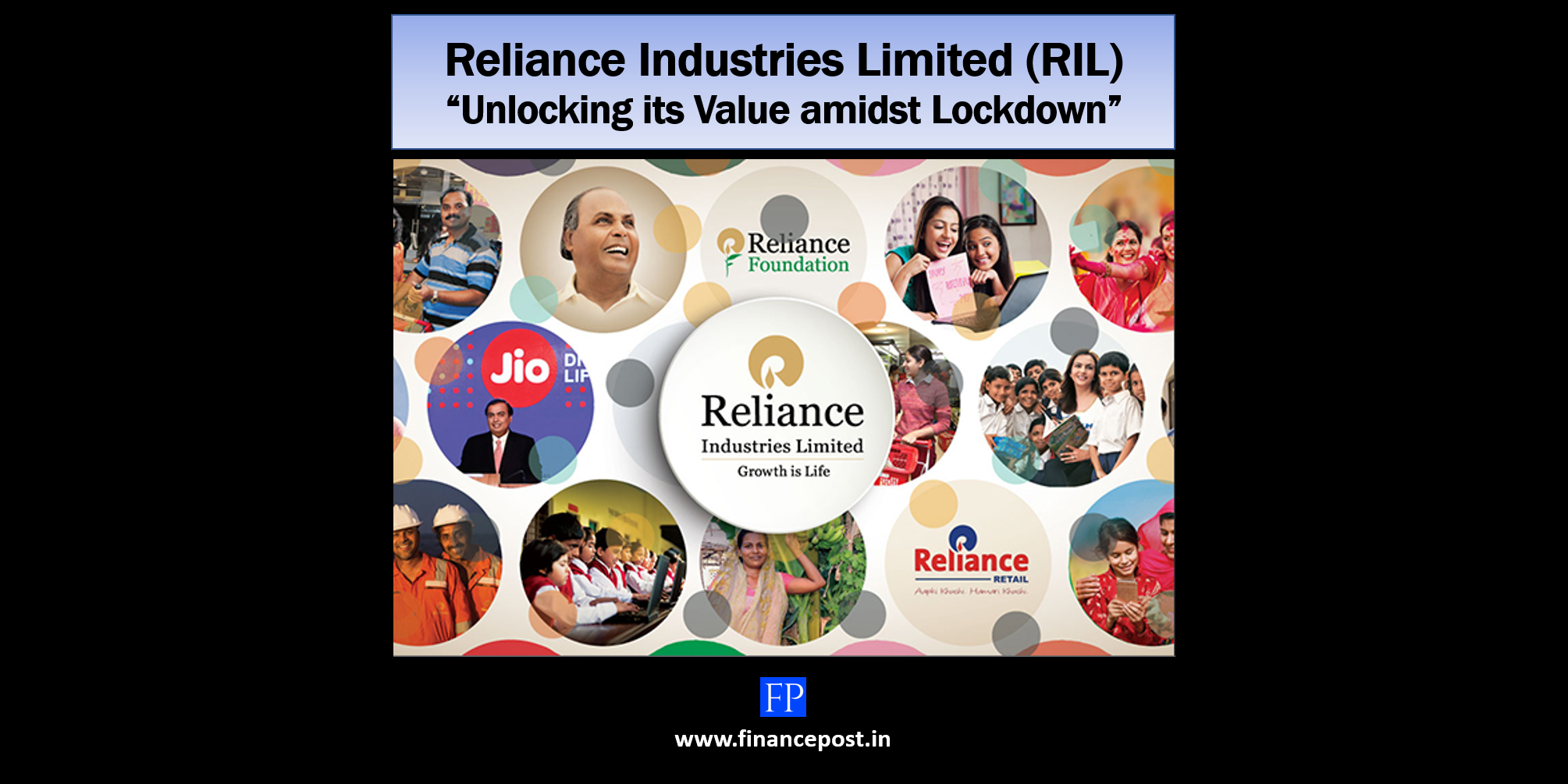 "Reliance Industries Limited (RIL) – ""Unlocking its Value amidst Lockdown"""