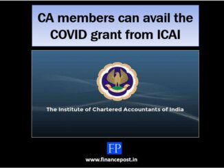 ca members can avail the covid grant from icai