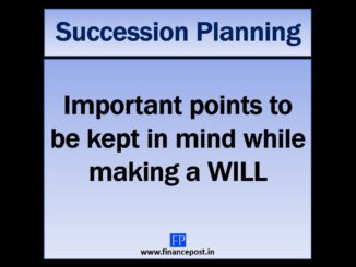 Important points to be kept in mind while making a WILL