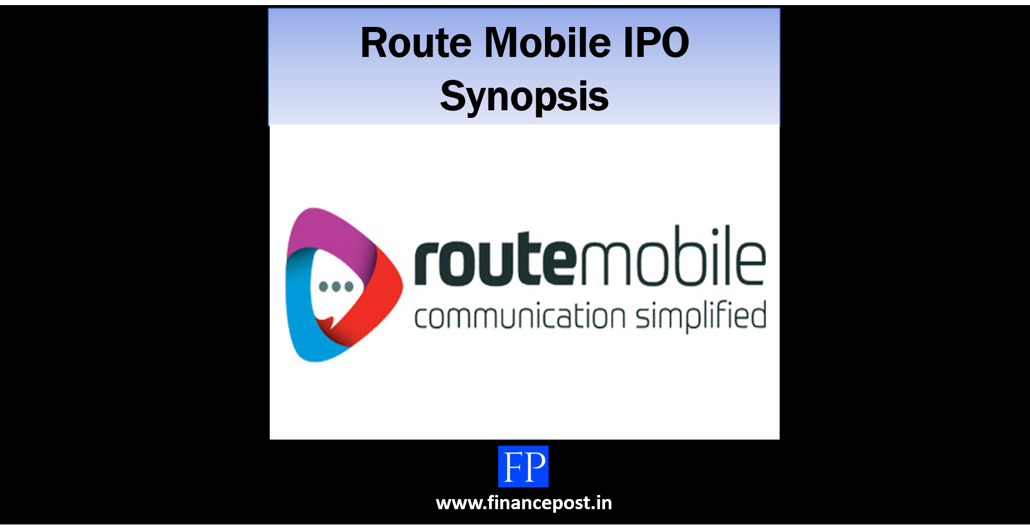 Route Mobile IPO Synopsis