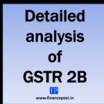 detailed analysis of gstr 2b
