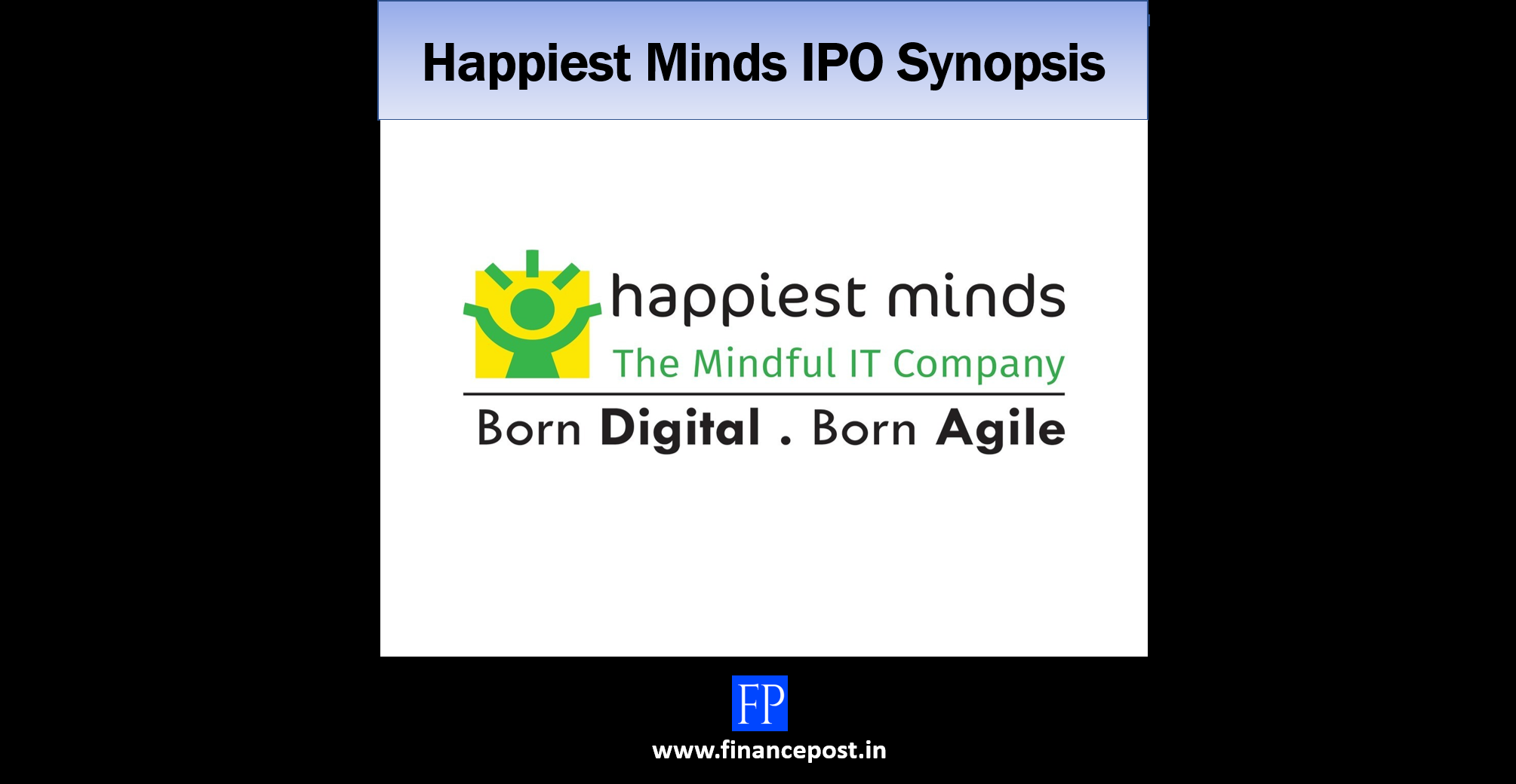 happiest minds ipo synopsis