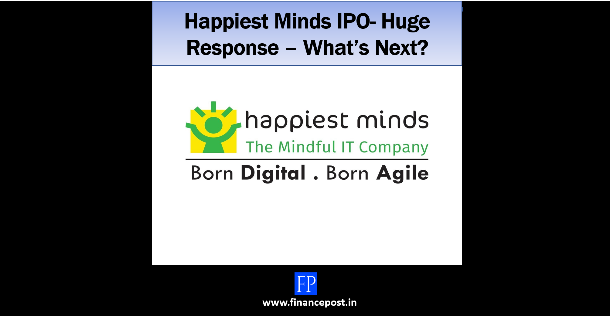 happiest minds ipo
