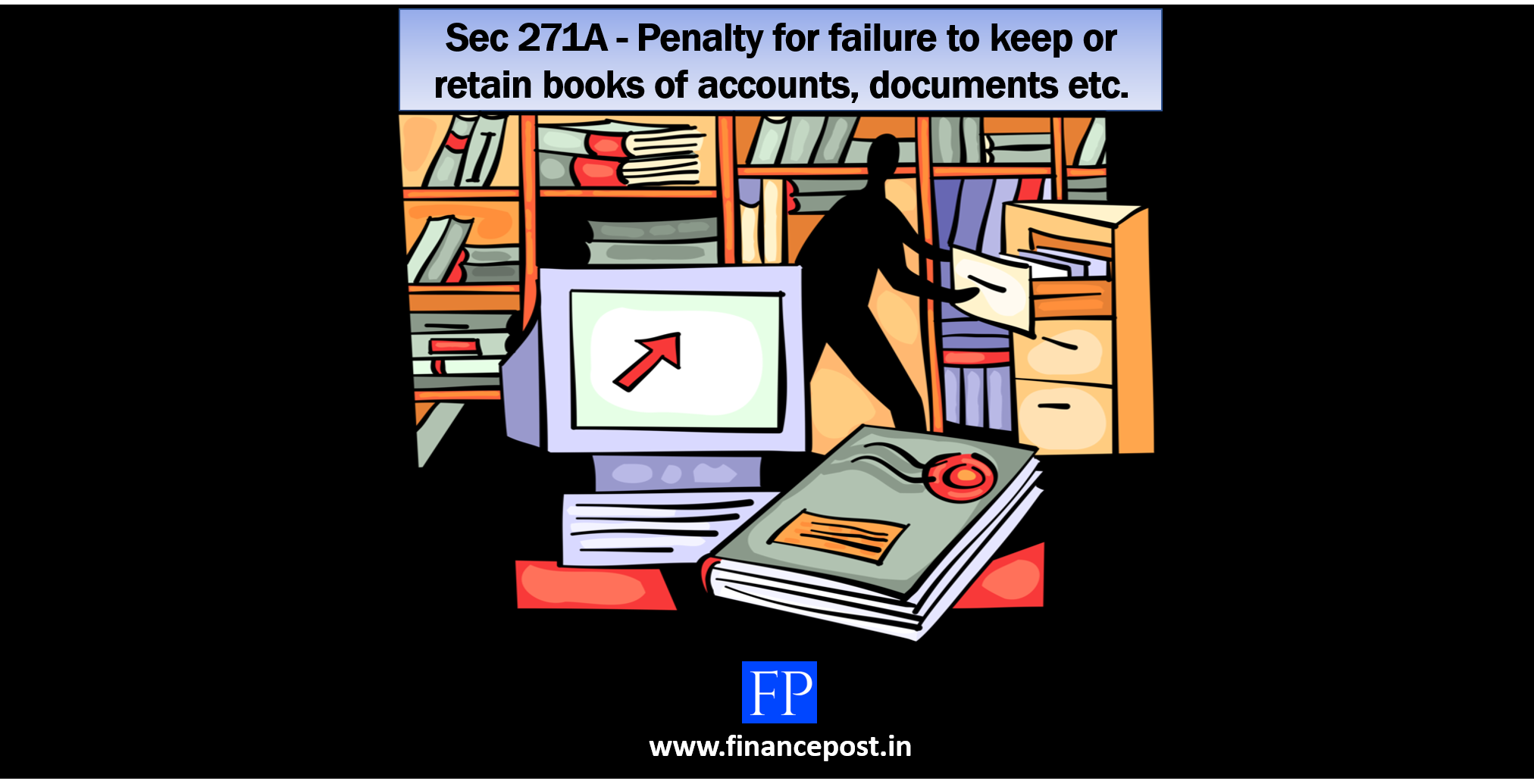 Sec 271A - Penalty for failure to keep or retain books of accounts, documents