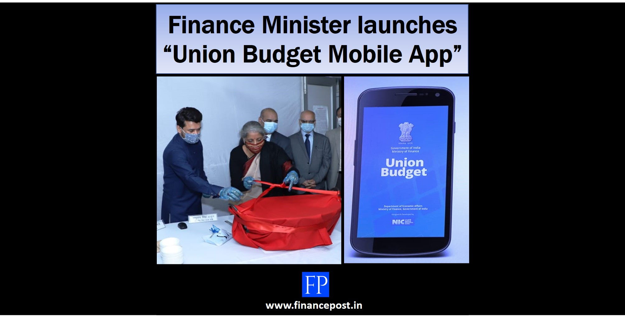 "Finance Minister launches ""Union Budget Mobile App"""