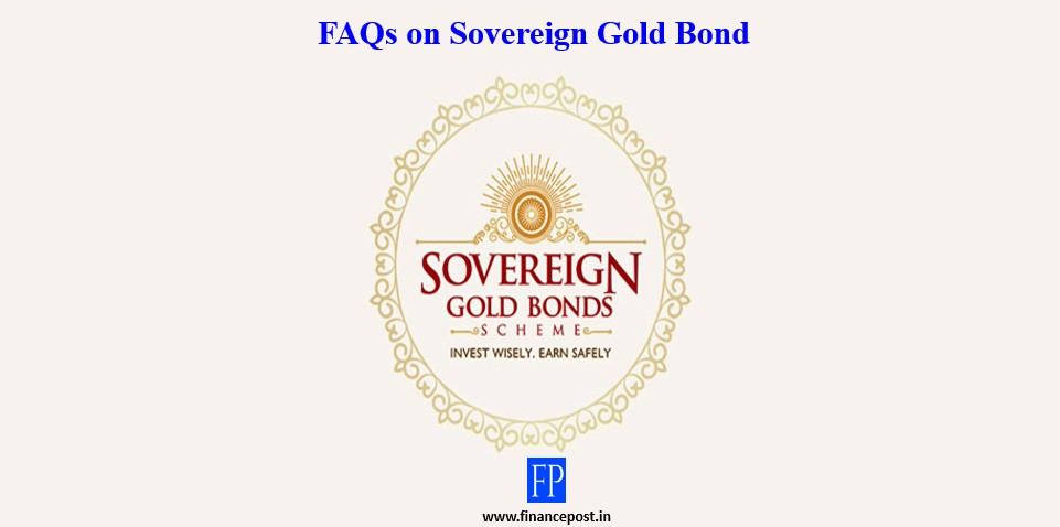 FAQs on Sovereign Gold Bond