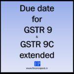 GSTR 9 due date