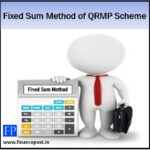 fixed sum method of qrmp scheme