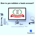 how to pre-validate a bank account