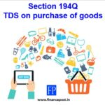 tds on purchase of goods