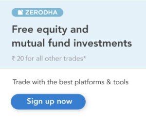Zerodha Banner