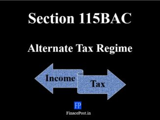 Section 115BAC of Income Tax Act