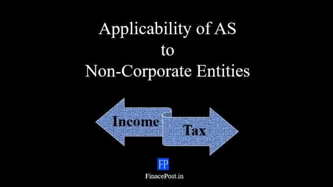 applicability of AS to non-corporate entities
